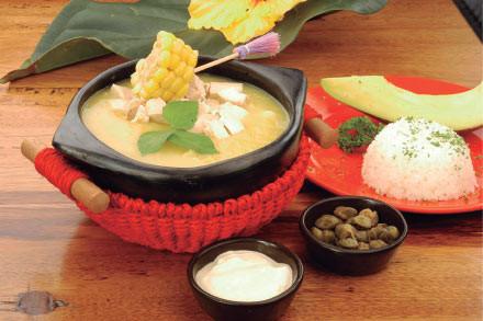 Gastronomía cundiboyacense