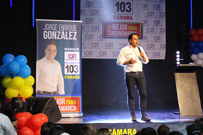 Jorge Enrique Gonzalez Garnica | Cámara de Representantes