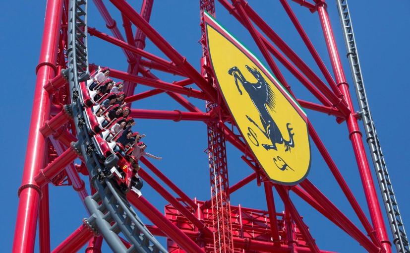Ferrari Rollercoster