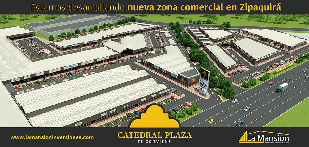 Catedral Plaza | Centro Comercial de Conveniencia en Zipaquirá