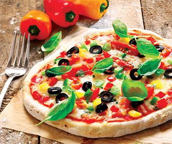 Pizza Aceite de Oliva Gastronomía Gourmet Colombia
