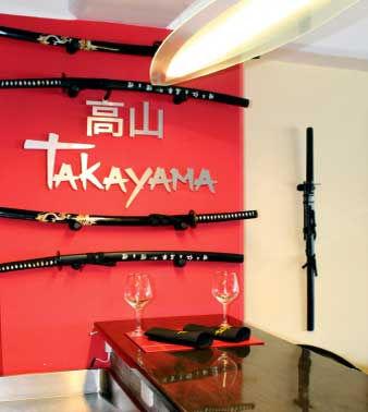 Restaurant Takayama, Chía