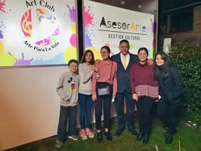 Así fue la inauguración de Asesorarte, empresa de gestión cultural