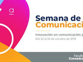 Semana de la Comunicación en la universidad de La Sabana