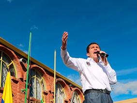 Leonardo Donoso Ruiz, Un alcalde que trabaja de la mano de la gente