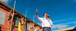 Alcalde de Chía Leonardo Donoso