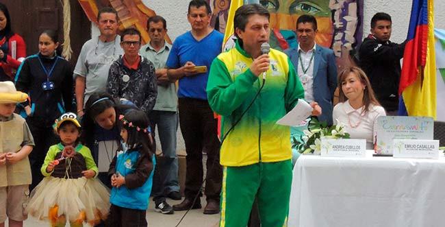 Alcalde de Mosquera Raúl Emilio Casallas