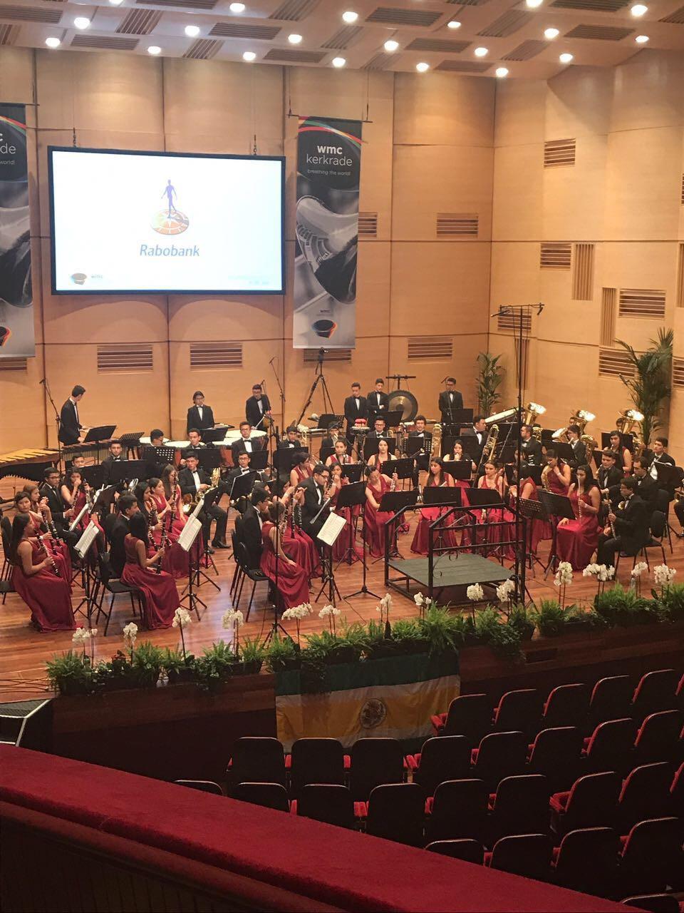 Banda Sinfonica de Cajica en Holanda