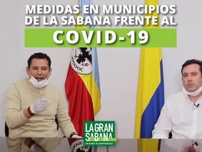 Medidas frente al COVID-19 por las alcaldías de los municipios de la Sabana de Bogotá
