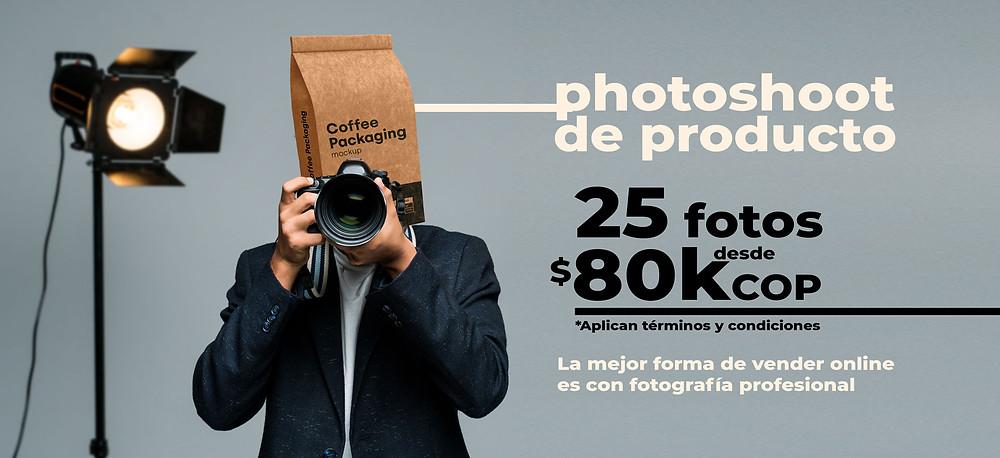 Fotografia de producto precio