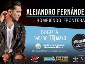 Alejandro Fernández llega a la sabana de Bogotá este 19 de Mayo 2018