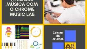 Aprender música com o Chrome Music Lab