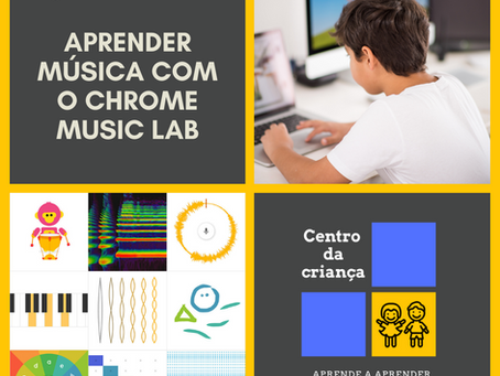 Aprender música com o Chrome Music Lab