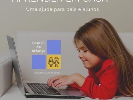 Aprender em casa – uma ajuda para pais e alunos