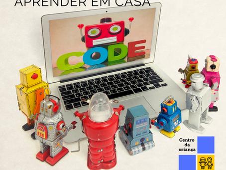 Aprender em casa II (programar) – uma ajuda para pais e alunos