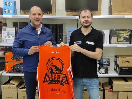PCBOX y Araberri Basket Club firman un acuerdo de patrocinio y colaboración