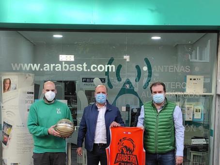 Araba St, nuevo patrocinador de Araberri Basket Club