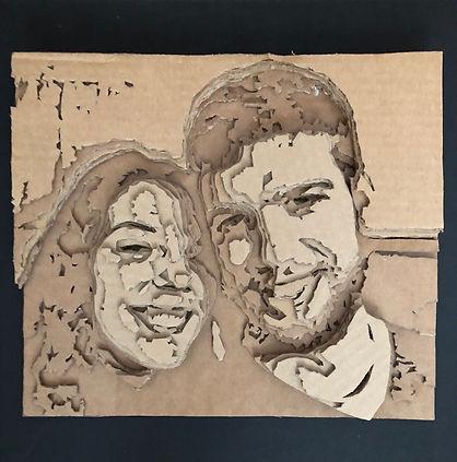 Portrait of us in Cardboard 2017