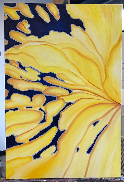 Yellow Abstracted 2018