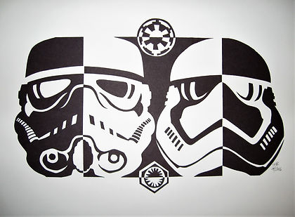 Star Wars notan 2016