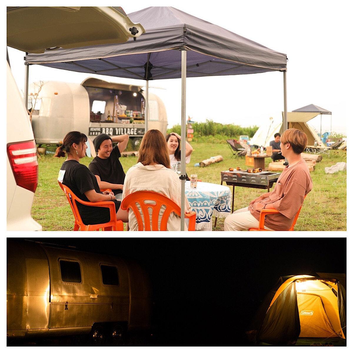 BBQ&Camp  StandardPlan (6m×10m)/⑦⑧,⑨⑩