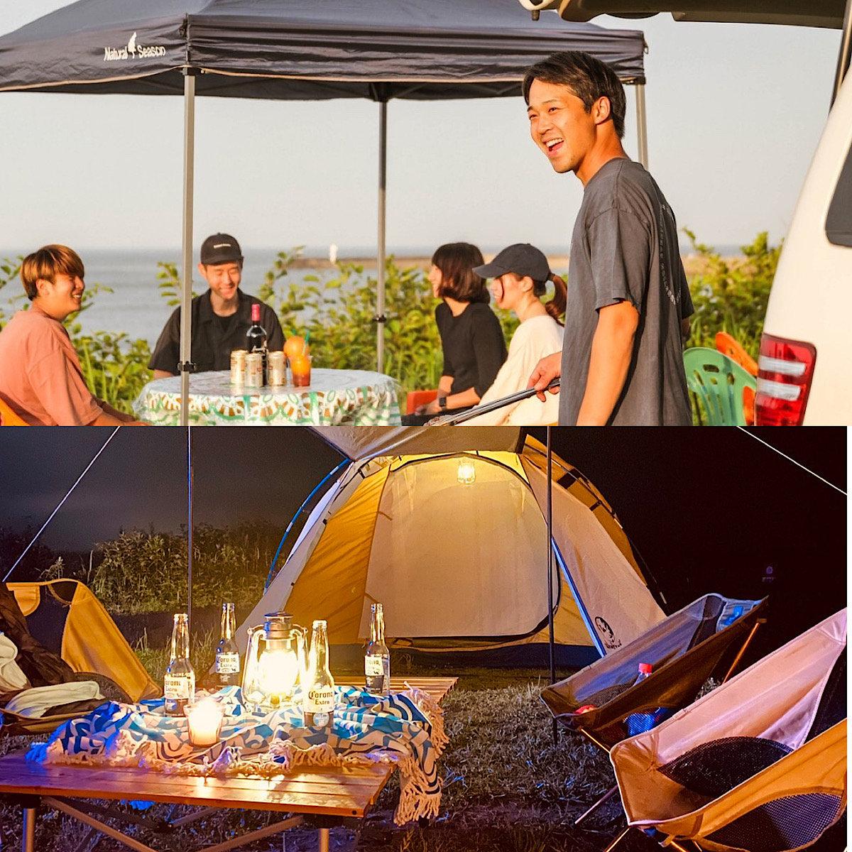 BBQ&Camp OceanPlan (6m×12m)/①②,③④,⑤⑥