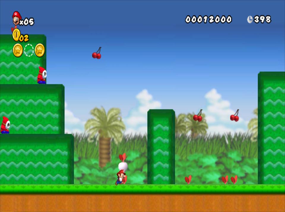 New super Mario allstars hd