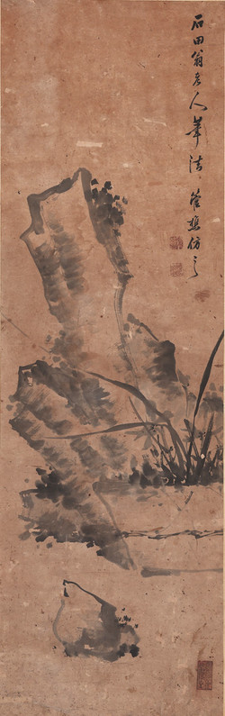 謝琯橋 / 仿石田翁筆意