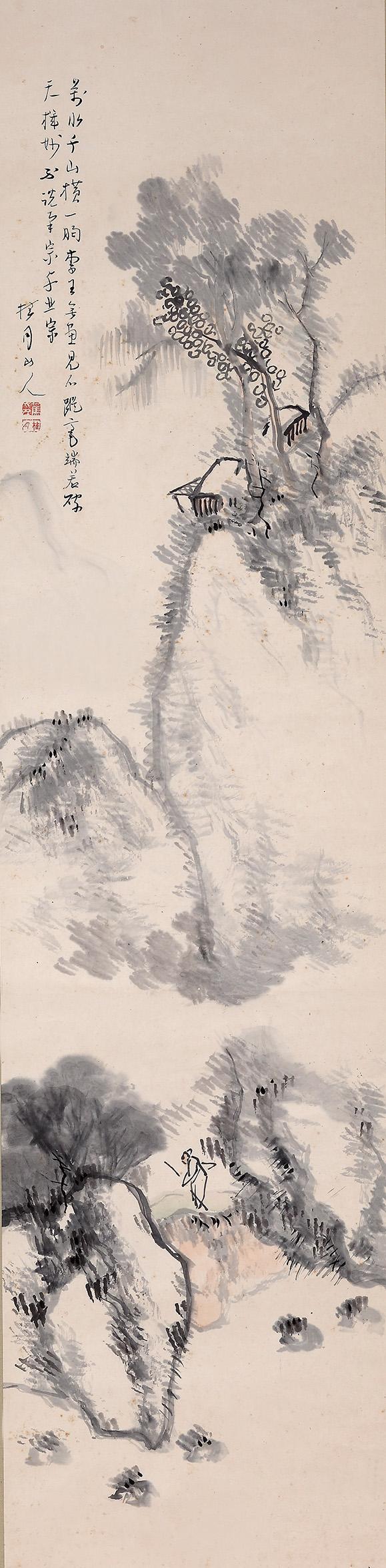松林桂月 / 山水隱士