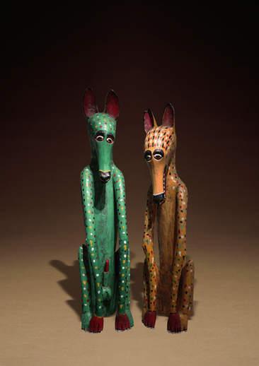 動物夫妻雕像 Animal Statues