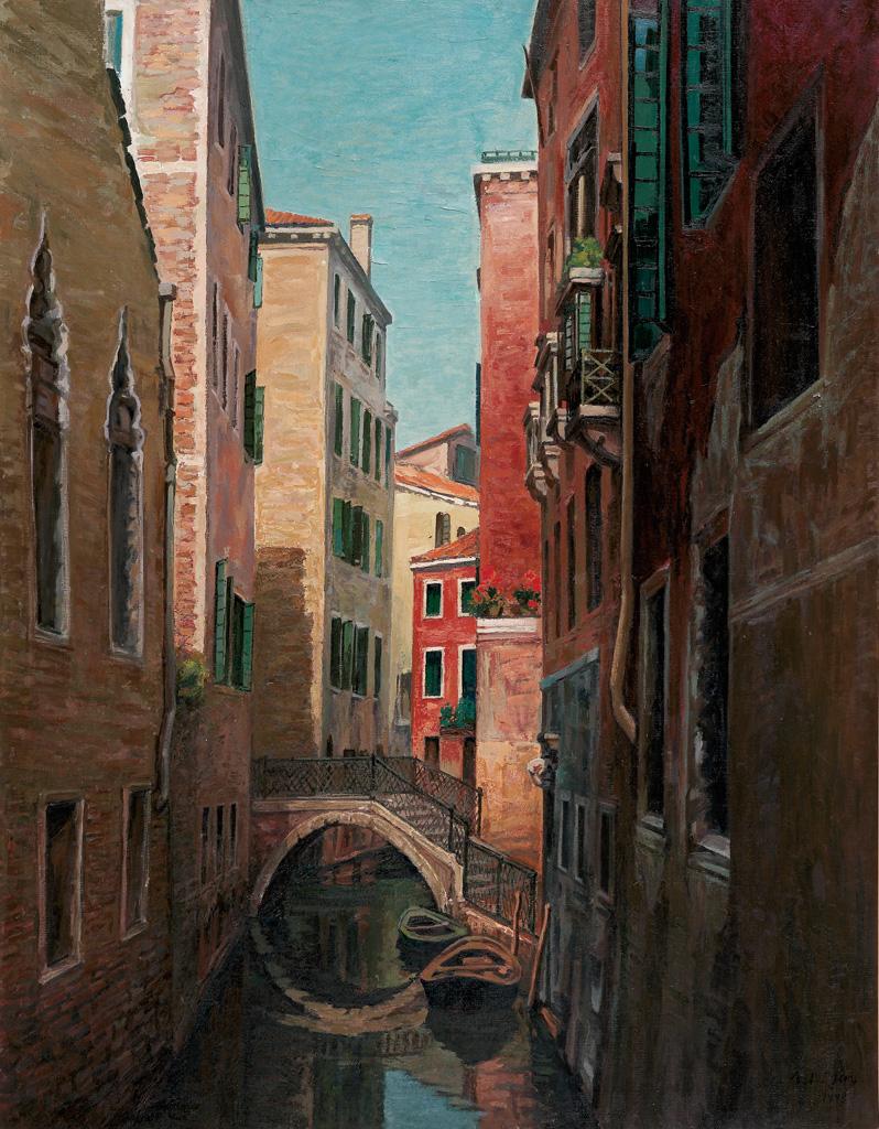 顏水龍 威尼斯