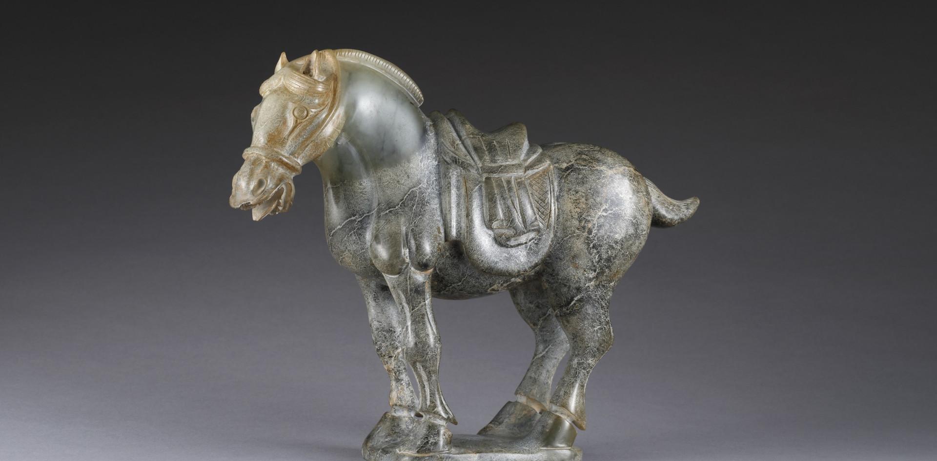 C023 青玉戰馬
