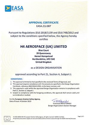 EASA Certificate October 2019.tif