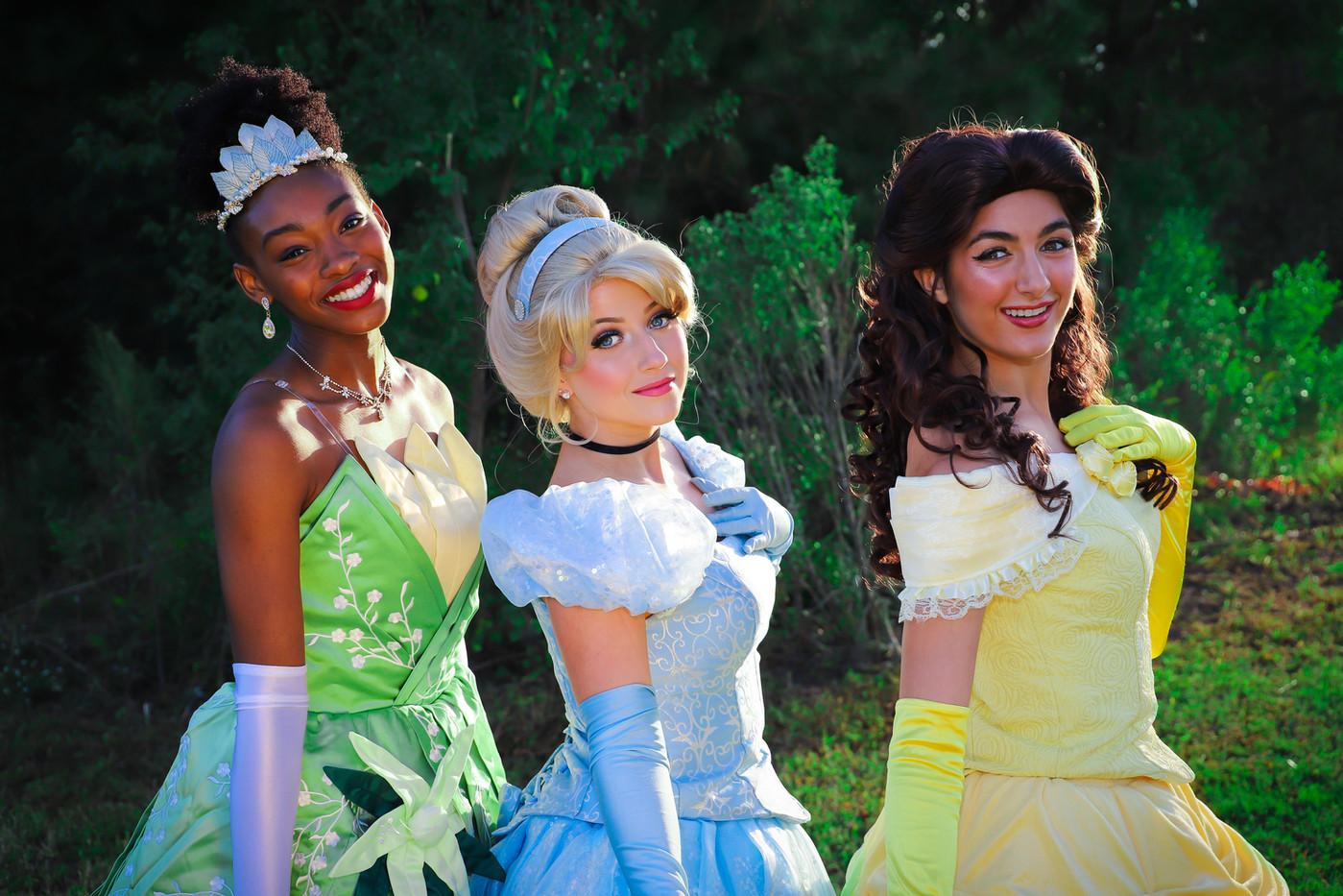 Princess Party Charleston SC
