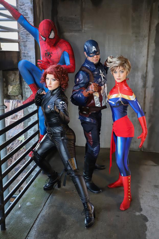 Superhero Parties Charleston SC