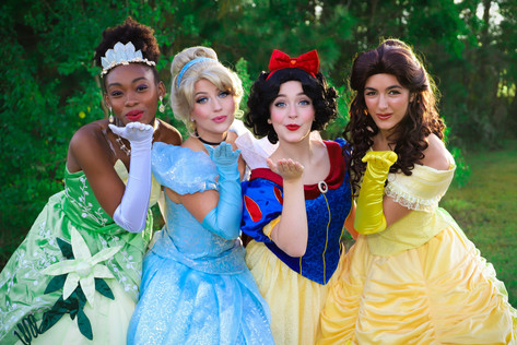 Princess Parties Charleston SC