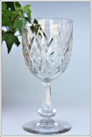 Verre à eau en cristal de Baccarat modèle service Harfleur, Baccarat crystal water glass