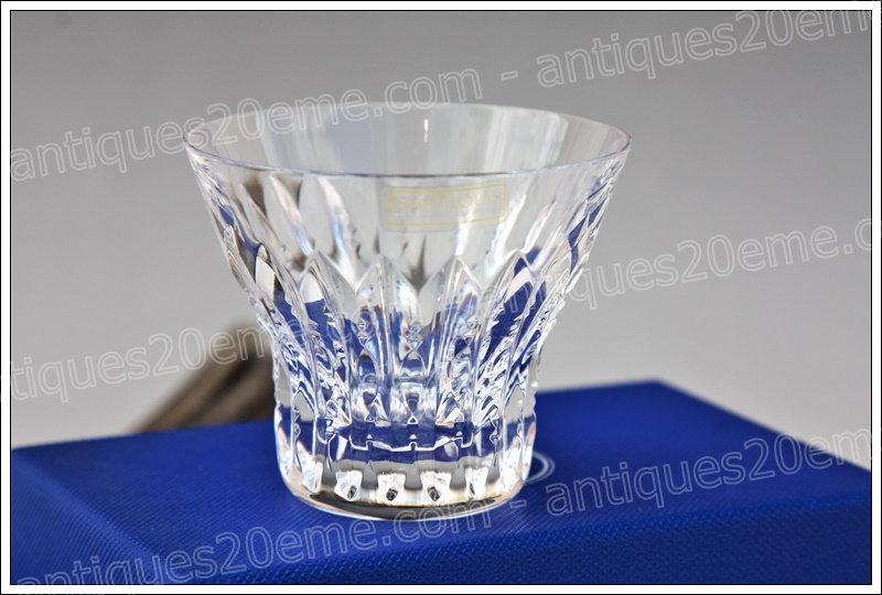 Verre à liqueur en cristal de St Louis modèle Indiana, St.Louis crystal liquor cordial glass
