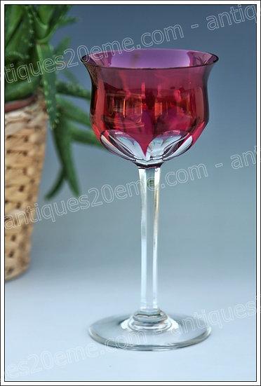Verre à vin du Rhin en cristal de Baccarat modèle service Zurich, Baccarat crystal Roemer glass