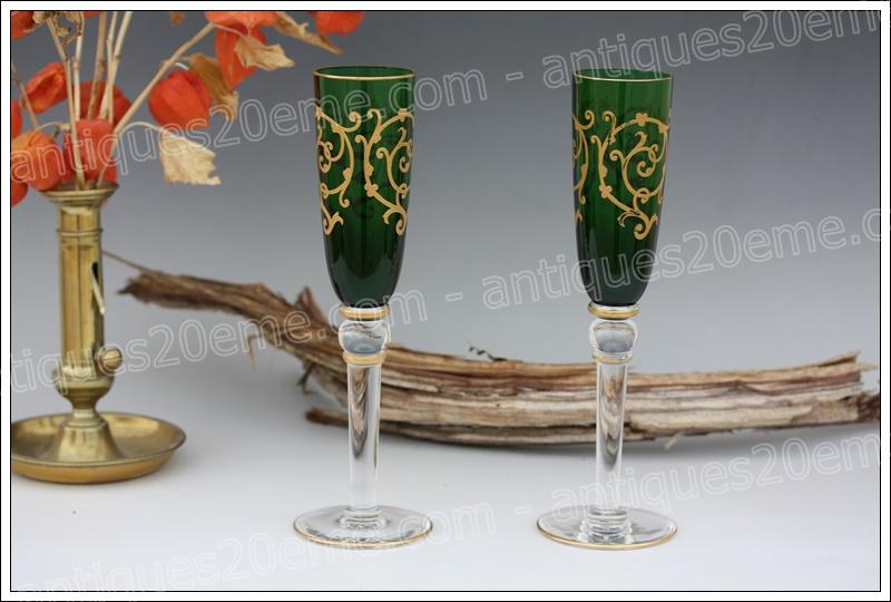 Flûtes cristal St Louis Baalbeck