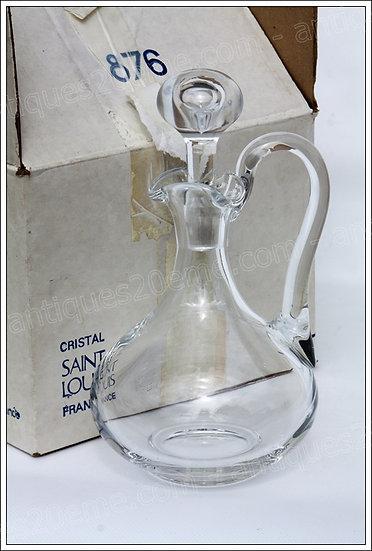 Carafe décanteur en cristal de St Louis modèle service Bordeaux, St Louis crystal wine decanter carafe