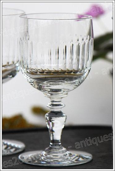 Verre à vin en cristal du service Baccarat Renaissance, Baccarat crystal wine glass