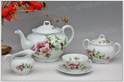 Services porcelaine de Limoges Giraud