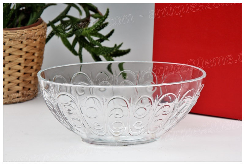 Jardinière bout de table, centre de table en cristal de Baccarat, Baccarat crystal centerpiece planter