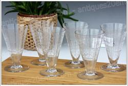 Baccarat Lido crystal glasses