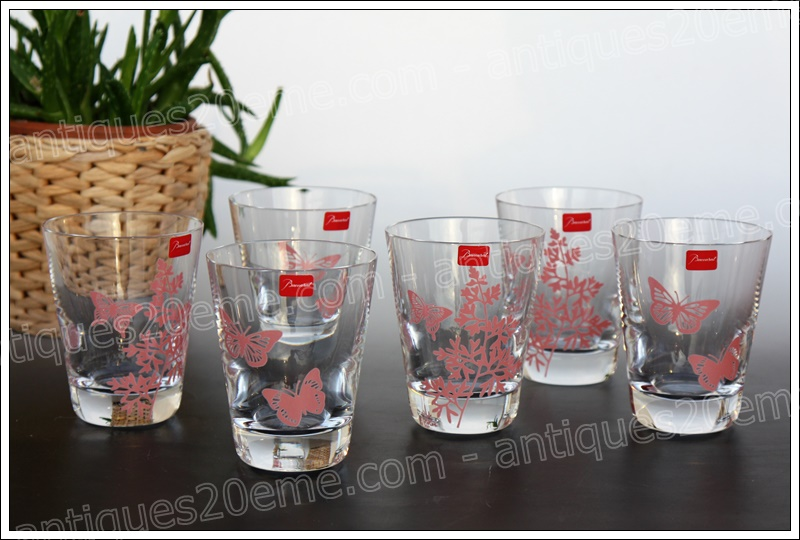 Baccarat Poetic Garden crystal glasses