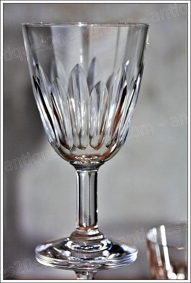 Verre à apéritif porto vin cuit en cristal de Baccarat modèle service Cassino, Baccarat crystal aperitif glass
