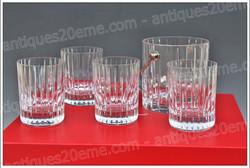 Coffret verres cristal Baccarat Harmonie