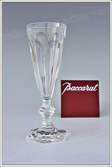 Flûte champagne verre service cristal Baccarat Harcourt, Baccarat crystal champagne flute glass