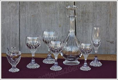 Service cristal Baccarat Massena
